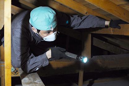 床下・小屋裏の検査は必須