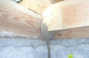 床下には蟻道が複数みられた