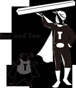 TEOとBOY