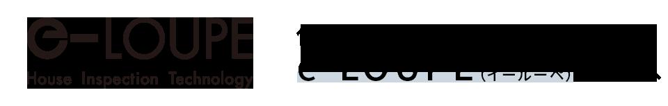 e-loupe(イールーペ)住宅診断専用サイト
