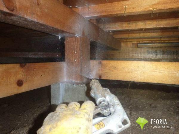 木材全体への木部処理